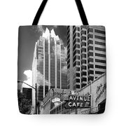 Congress Avenue Vista Tote Bag