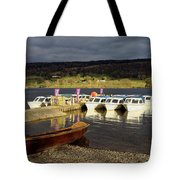 Coniston Water Boats Tote Bag