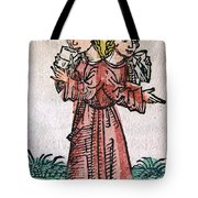 Conjoined Twins, Nuremberg Chronicle Tote Bag