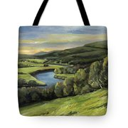 Connecticut River Valley View Two Tote Bag