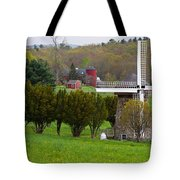 Connecticut Windmill. Tote Bag