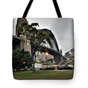 Connecting North And South Tote Bag