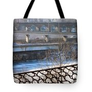 Connecting Paths And Patterns  Tote Bag