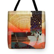 Connections In Space Tote Bag