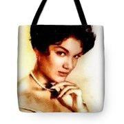 Connie Francis, Music Legend By John Springfield Tote Bag