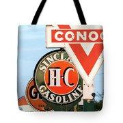 Conoco Sign 081117 Tote Bag