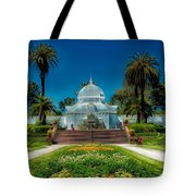 Conservatory Of Flowers - San Francisco Tote Bag