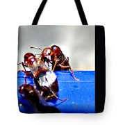 Consider The Ants 2 Of 3 Tote Bag