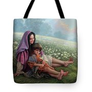 Consider The Lilies Tote Bag by Greg Olsen