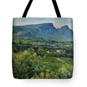 Constantia Valley Cape Town South Africa 2017 Tote Bag