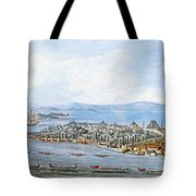 Constantinople Ships Tote Bag