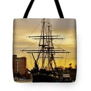 Constellation Gold Tote Bag