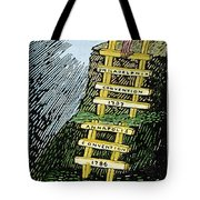 Constitution Cartoon Tote Bag
