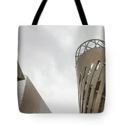 Constructed Using Stripes Tote Bag