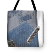 Construction Reflection Tote Bag