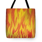 Consuming Fire Tote Bag