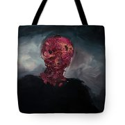Consumption Series, Iv Tote Bag by Daniel Hannih