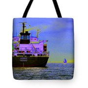 Container Sail Tote Bag