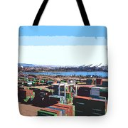 Container Terminal Tote Bag