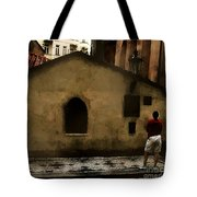 Contemplating Antiquity Tote Bag