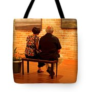 Contemplating Spirituality Tote Bag