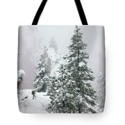Contemplating The Hike Tote Bag