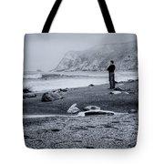Contemplation - Beach - California Tote Bag