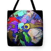 Contemporary Art - Abstract In The Round  Tote Bag