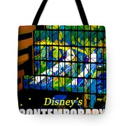 Contemporary Window To The World Tote Bag