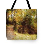 Contented Path Tote Bag