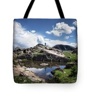 Continental Divide Above Twin Lakes 2 - Weminuche Wilderness Tote Bag