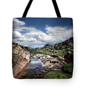 Continental Divide Above Twin Lakes 3 - Weminuche Wilderness Tote Bag