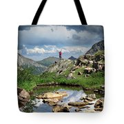 Continental Divide Above Twin Lakes 4 - Weminuche Wilderness Tote Bag