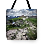 Continental Divide Above Twin Lakes 6 - Weminuche Wilderness Tote Bag