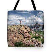 Continental Divide Above Twin Lakes - Weminuche Wilderness Tote Bag