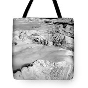 Continental Divide Clouds Rocky Mountains Tote Bag