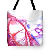 Contortion Abstract Tote Bag
