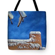 Contrast After The Snow Tote Bag