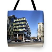 Contrast In Age Tote Bag