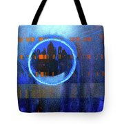 Contrast Ring 2 Tote Bag