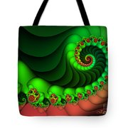 Contrasted Harmony Tote Bag
