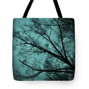 Contrasted Trees Tote Bag