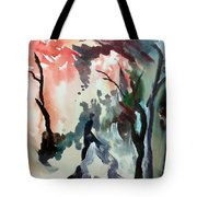 Contrasting Autumn Tote Bag