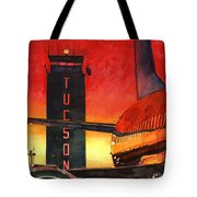 Control Tower Tote Bag