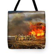 Controlled Burn Tote Bag