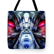 Convergence Abstract Tote Bag by Alexander Butler
