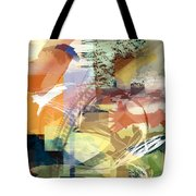 Convergence And Memory Tote Bag