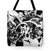 Conversation 10 Tote Bag