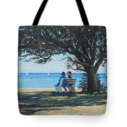 Conversation In The Park Tote Bag