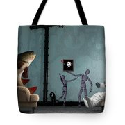 Conversing With Demons At 2 Am Tote Bag